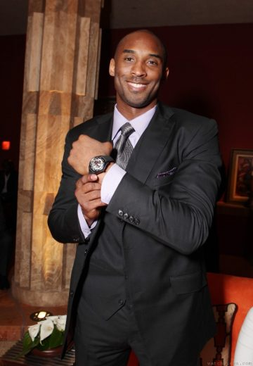 GP芝柏表持續傳愛,贊助NBA球星Kobe Bryant慈善基金會