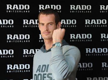 英國網球好手安迪.穆雷 成為雷達表代言人