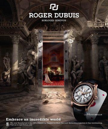 不可思議的十字路口,神奇構思匯聚於此:ROGER DUBUIS最新宣傳廣告