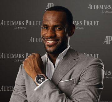 愛彼慶祝品牌大使LeBron James勒布朗.詹姆士奪得 NBA 總冠軍