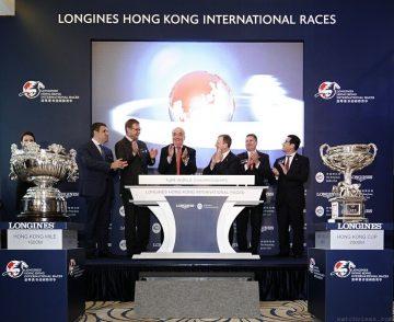 Longines浪琴表冠名贊助「浪琴表香港國際賽事」並成為大會指定計時器