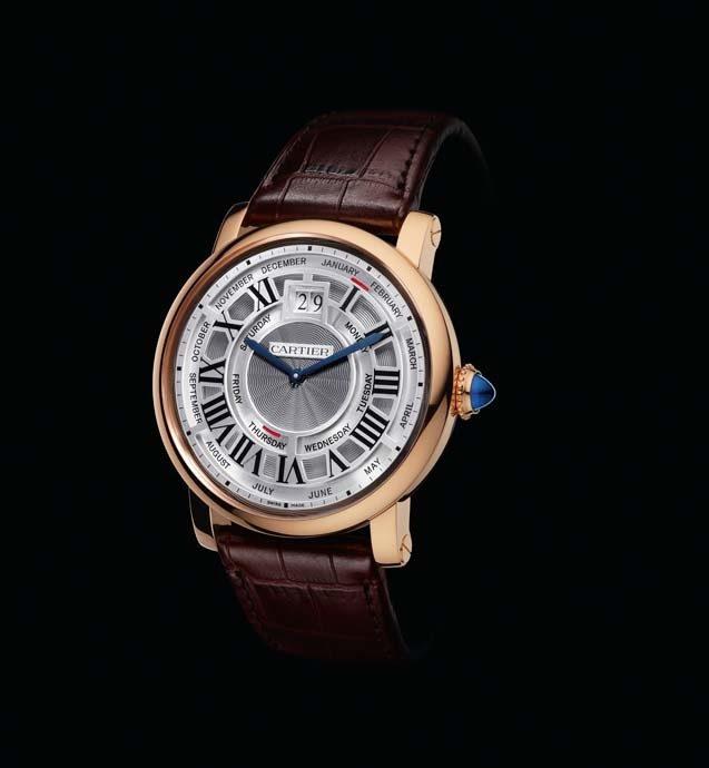 卡地亞Rotonde de Cartier Annual Calendar年曆腕錶
