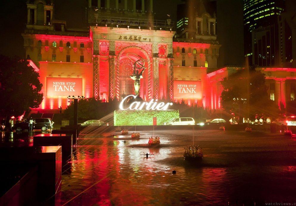 CARTIER卡地亞於上海展覽中心舉辦TANK坦克腕錶全系列發表晚會