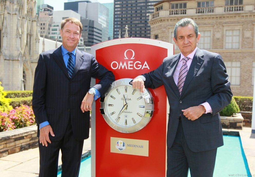 OMEGA首度榮任2012萊德盃官方指定時計,特別訂製海馬Aqua Terra Captains紀念腕錶