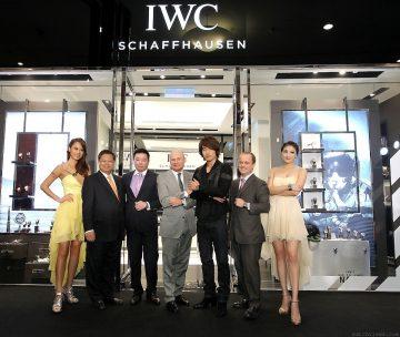 沙夫豪森IWC萬國錶全新專賣店「耀」上台北101