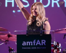 performs during the 3rd annual amfAR Inspiration Gala New York at The New York Public Library - Stephen A. Schwarzman Building on June 7, 2012 in New York City.