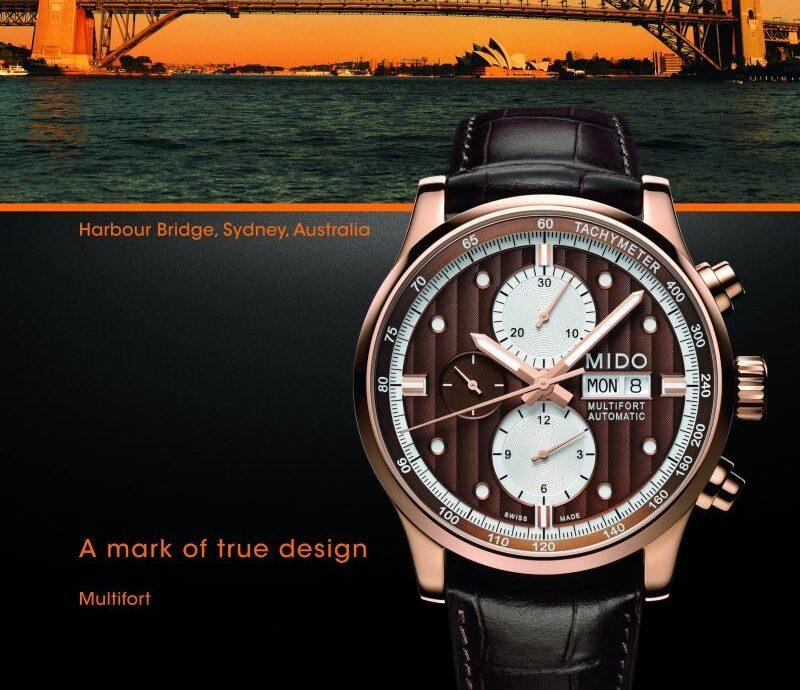 時尚秋色錶現風格:MIDO Multifort先鋒系列極速男仕腕錶與Baroncelli Lady Smile永恆系列微笑女仕腕錶