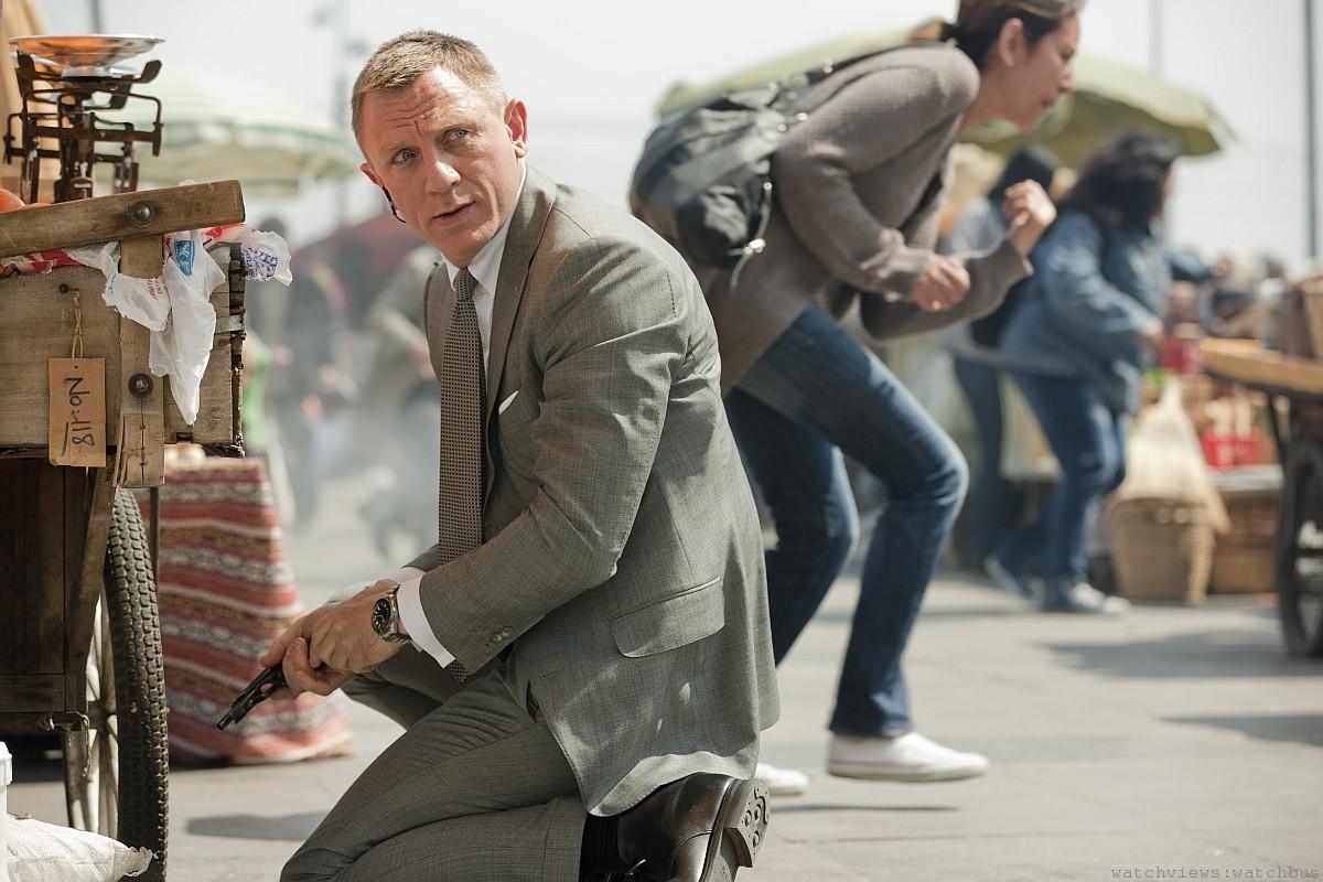 慶祝最新一集007詹姆斯‧龐德電影:歐米茄推出海馬Planet Ocean 600米SKYFALL紀念錶
