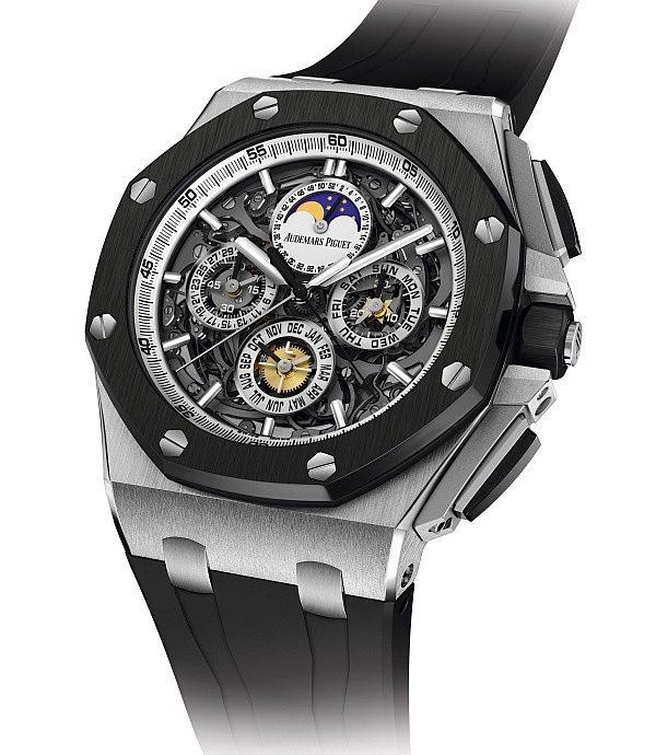 [2013 Pre-SIHH] 秉持傳統,放眼未來:皇家橡樹離岸型大複雜功能腕錶