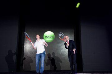 代言人安迪.穆雷Andy Murray動感演繹雷達表嶄新HyperChrome皓星系列