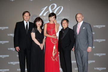 林志玲出席「尋找台灣最古老浪琴表」頒獎典禮,見證浪琴表橫跨三個世紀的製錶工藝傳承