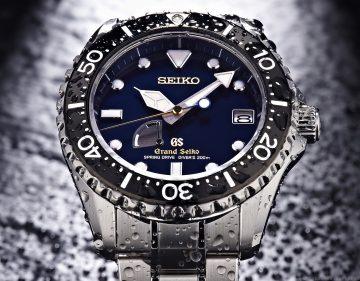 以頂級工藝成就專業追求,Grand Seiko蔚藍潛水錶限量上市