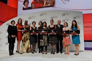 2012年第五屆「卡地亞靈思湧動女性創業家獎」Cartier Women's Initiative Awards揭曉