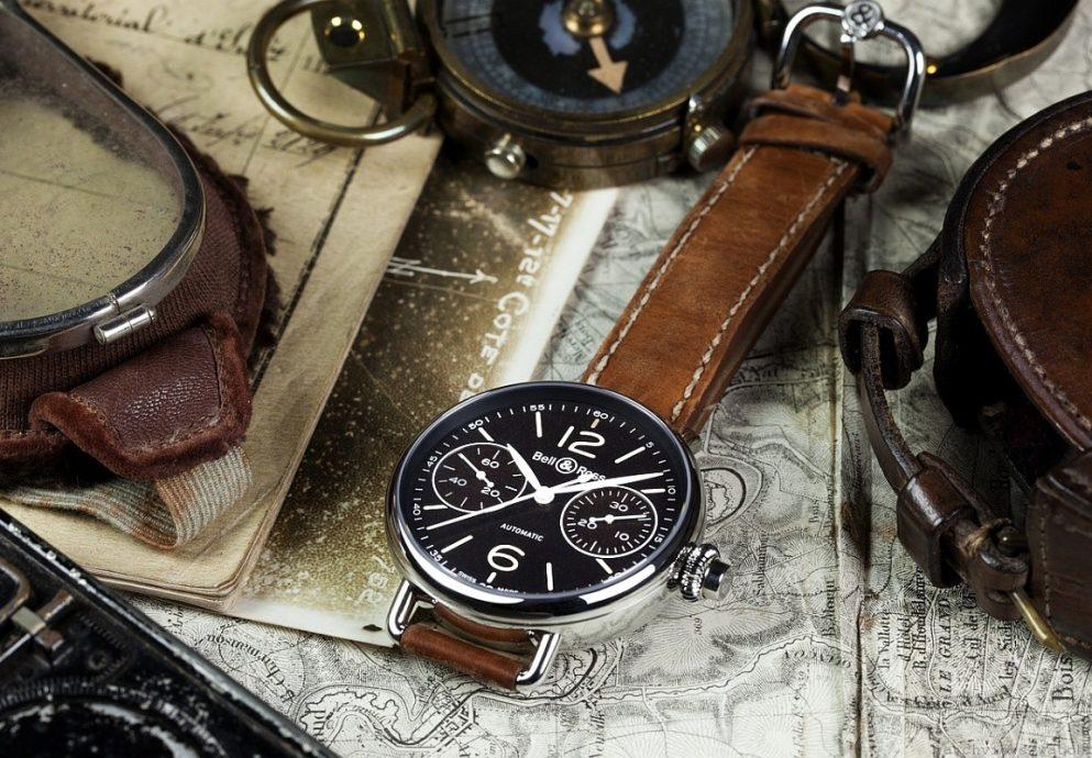 向歷史致敬的頌歌:Bell & Ross柏萊士WW1 CHRONOGRAPHE MONOPOUSSOIR單按鈕計時腕錶