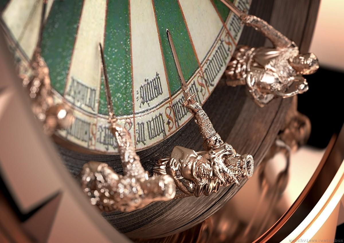 對傳奇的全新詮釋:Roger Dubuis Excalibur Table Ronde腕錶