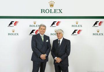 勞力士與一級方程式錦標賽(Formula 1)簽署全球合作夥伴協議