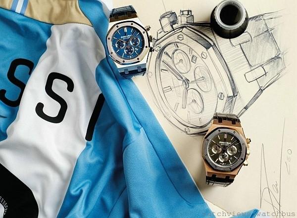 「愛彼皇家橡樹系列頂級運動腕錶鑑賞會」12月20日至24日於高雄寶島鐘錶鹽埕名店舉行
