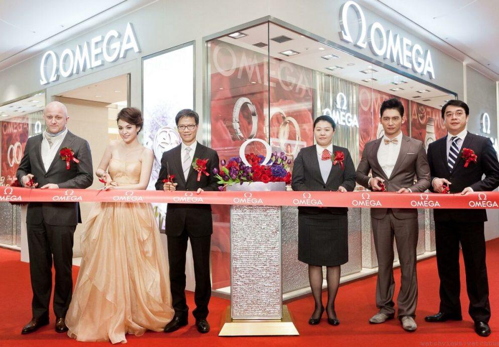 OMEGA名品店1月11日於新光三越信義新天地開幕