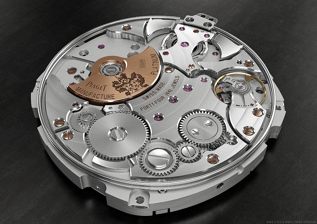 為歌頌高級鐘錶藝術而譜寫的全新美妙樂章:Piaget Emperador Coussin 超薄三問錶
