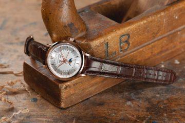 Carl F. Bucherer寶齊萊Manero Moonphase曼帝洛月相腕錶全日曆金質時計典藏款