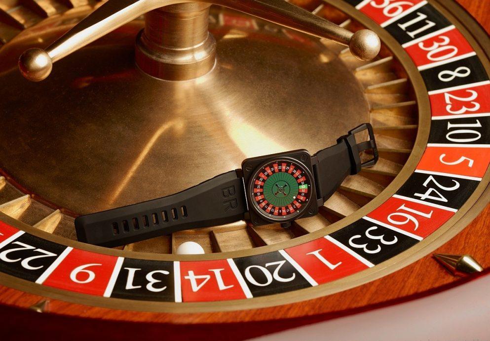 BELL & ROSS 微型賭場旋轉輪盤CASINO系列腕錶