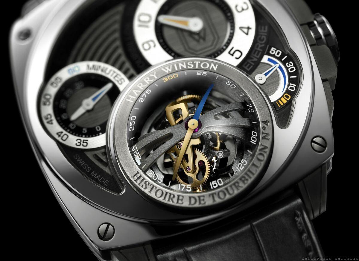 海瑞溫斯頓Harry Winston Histoire de Tourbillon史詩陀飛輪4號腕錶