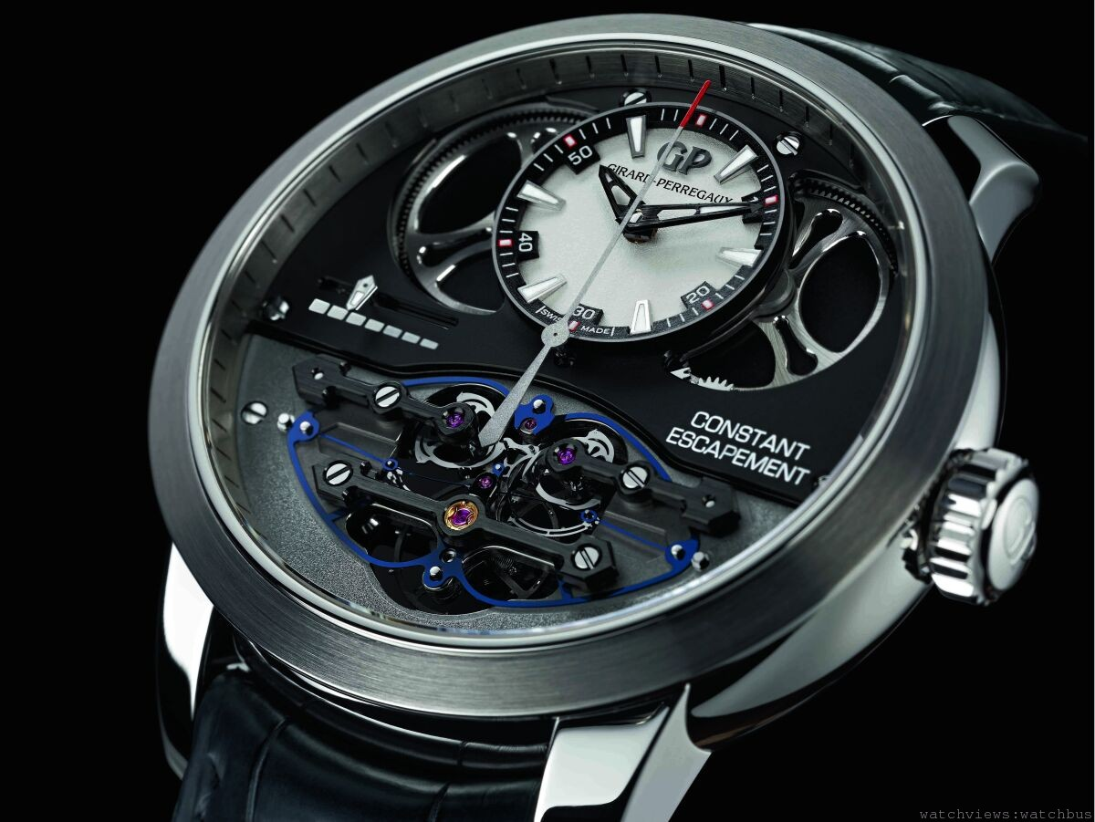 劃時代技術突破磅礡登場:Girard-Perregaux芝柏表恆定動力擒縱腕錶隆重面世