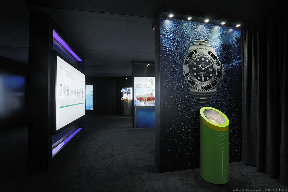 挑戰極限-勞力士腕錶潛入海洋最深處:獨一無二的勞力士深海挑戰展覽在上海盛大開幕