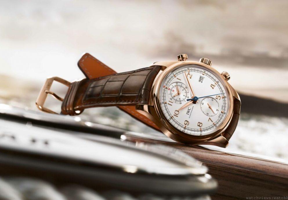IWC兩款全新葡萄牙腕錶揚帆起航:葡萄牙計時腕錶經典版與葡萄牙陀飛輪手動上鏈腕錶