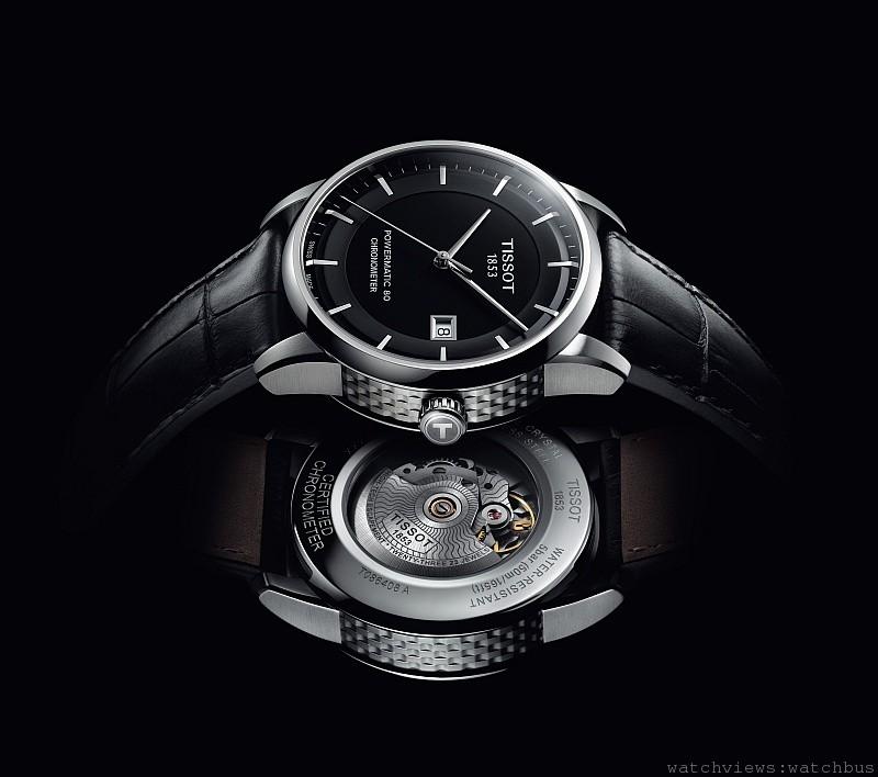 盡享時間的奢華:TISSOT瑞士官方天文台認證典藏80自動腕錶