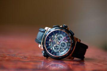 全新設計:一只腕錶,三地時區,四種材質-柏拉維TravelTec FourX三地時區限量版計時碼錶