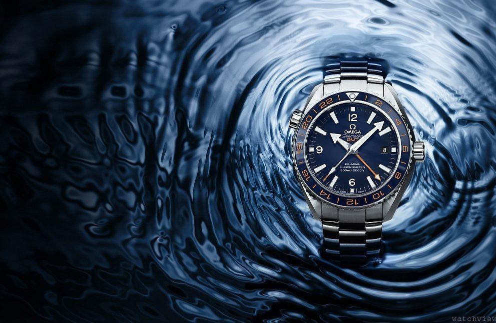OMEGA海馬Planet Ocean 600M GoodPlanet GMT紀念腕錶