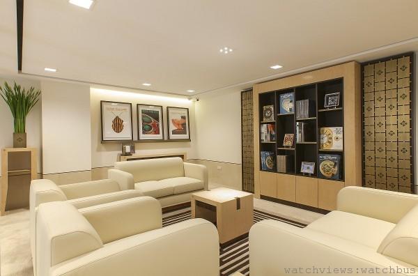 永新鐘錶百達翡麗專館二樓設有VIP室