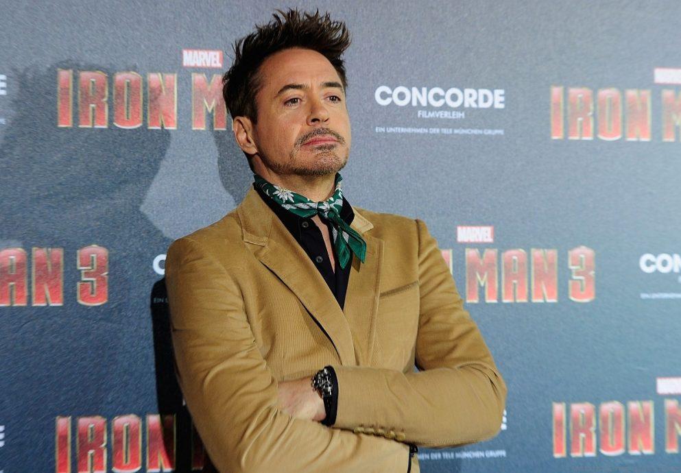 小勞勃道尼佩戴積家錶出席IRONMAN鋼鐵人3全球首映