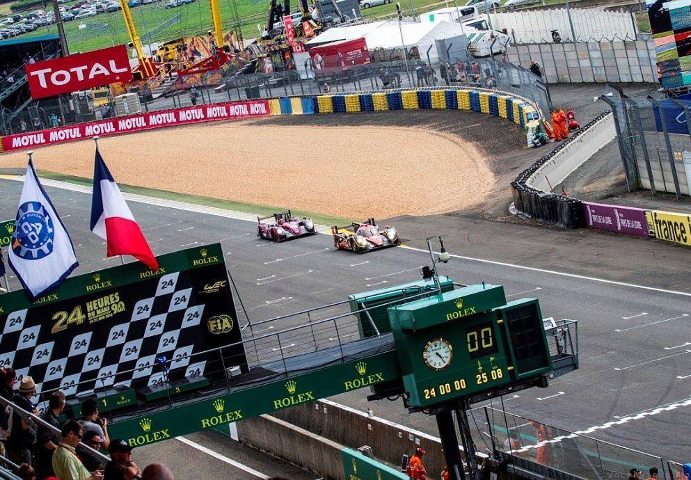 德國Audi車隊贏得法國Le Mans 24小時耐力賽LMP1組別冠軍,獲贈勞力士Daytona蠔式恆動迪通拿腕錶
