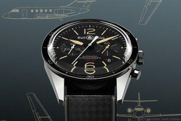 Bell & Ross推出Vintage Sport Heritage腕錶系列,見證達梭Dassault Falcon噴射客機五十週年紀念錶