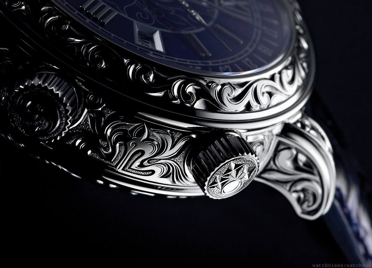 超級複雜功能腕錶的巔峰之作:百達翡麗Ref. 6002 Sky Moon Tourbillon天文陀飛輪腕錶
