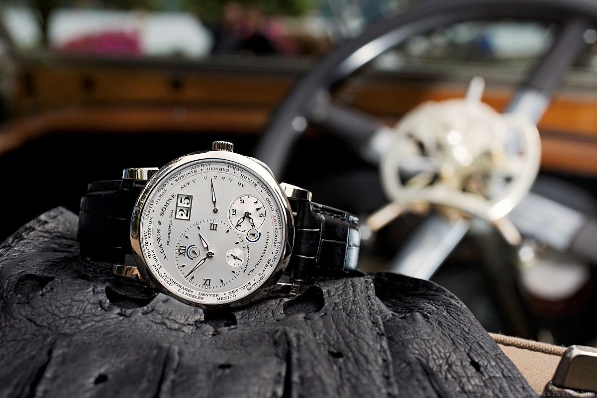 A. Lange & Söhne朗格LANGE 1 TIME ZONE的Concorso特別版腕錶優雅登場