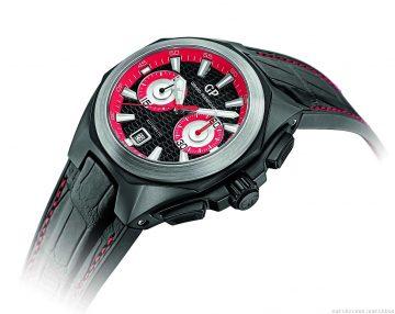 GP芝柏表全力支持第五屆Only Watch慈善拍賣會,捐贈獨一無二Chrono Hawk Only Watch海鷹計時碼錶