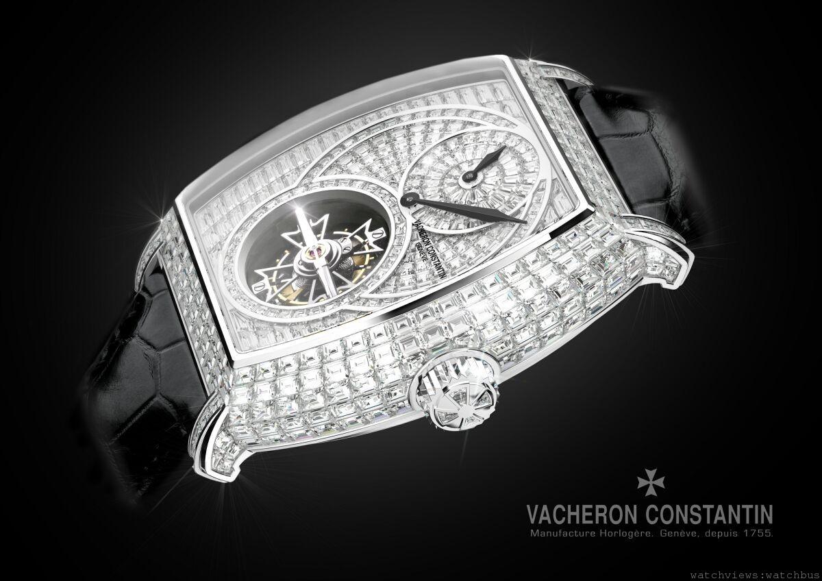 內在品質與外在魅力相得益彰:Vacheron Constantin Malte馬爾他陀飛輪高級珠寶腕錶