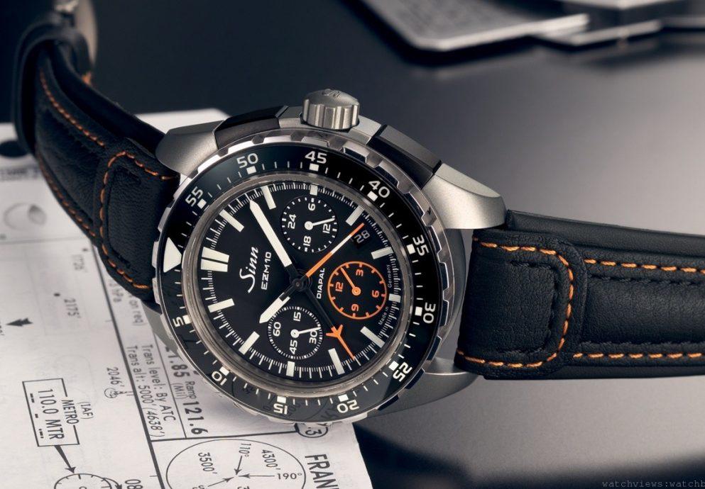 最新特殊任務編製腕錶在台震撼登場:Sinn EZM10航空計時腕錶