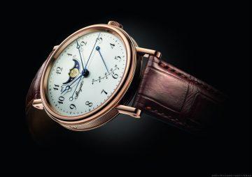 台南中國鐘錶傾情呈獻Breguet寶璣月相盈虧腕錶