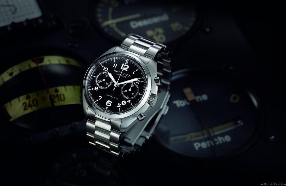 進擊的飛行腕錶之王:美式飛行霸主—漢米爾頓經典之作Khaki Pilot Pioneer Autochrono再現