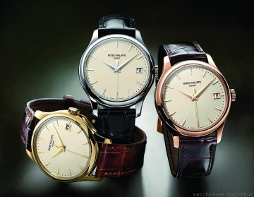 軍官與紳士:百達翡麗Calatrava Ref. 5227腕錶