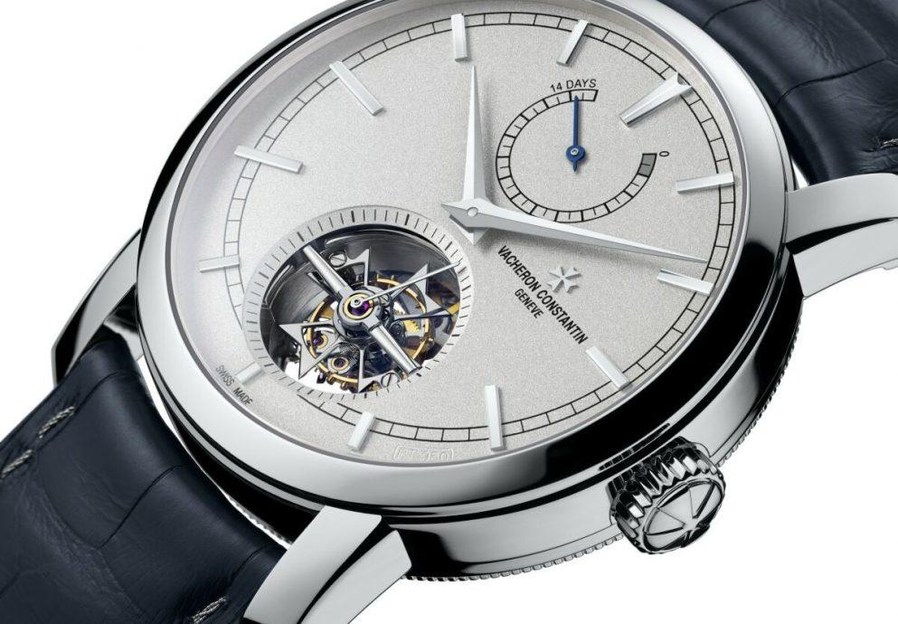 江詩丹頓Patrimony Traditionelle 14天動力儲存陀飛輪腕錶 「限量鉑金珍藏系列」