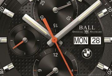 BALL for BMW新款計時碼錶上市,即日起購買BMW系列錶款贈BMW模型車