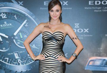 勇者的挑戰 越野的奔馳:性感瑞莎演繹全新EDOX ChronoRally 1 越野運動錶款