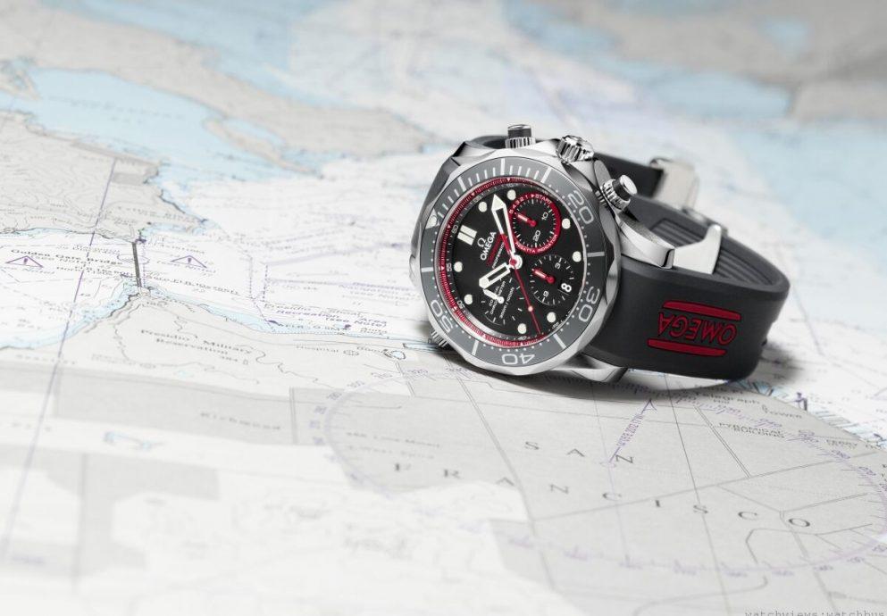 OMGEA海馬 ETNZ限量版潛水錶與紐西蘭酋長隊一起迎戰美洲杯