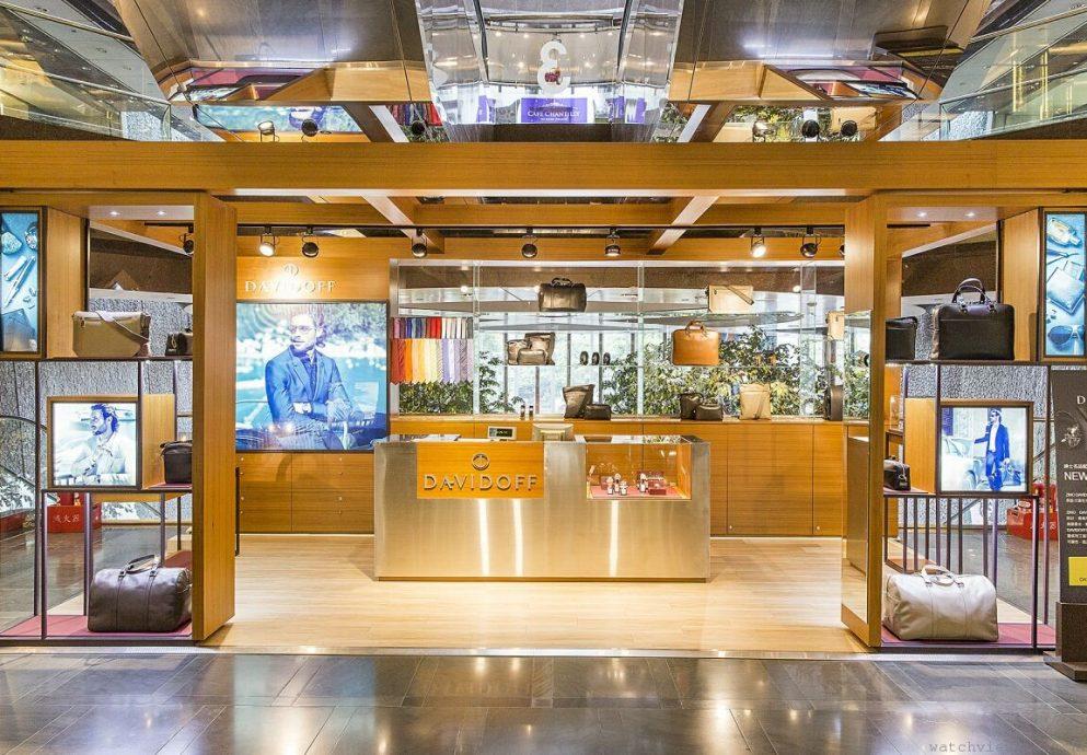 大衛杜夫DAVIDOFF台灣第一間專賣店正式進駐台北遠企購物中心二樓