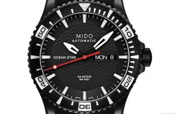 MIDO美度表 黑白風尚 海洋系潛水對錶,盛夏展現率性運動風